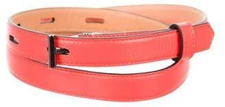 Reed Krakoff Leather Skinny Belt w/ Tags