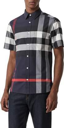 Burberry Windsor Plaid Shirt