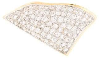 18K Diamond Large Slide Pendant
