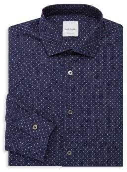 Paul Smith Slim-Fit Dot Button-Down Shirt