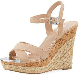 Charles by Charles David Archie Microsuede® High Wedge Sandal