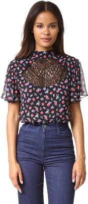 Nanette Lepore Bouquet Blouse $298 thestylecure.com