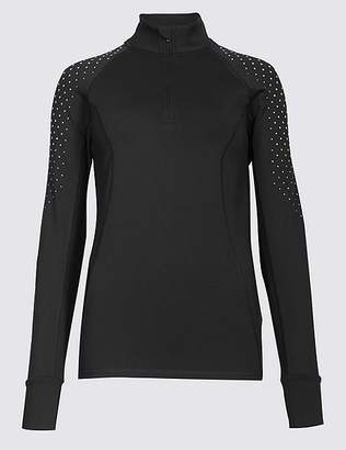 Marks and Spencer Reflective Dot Run Top