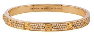 Cartier Diamond Pavé LOVE Bracelet