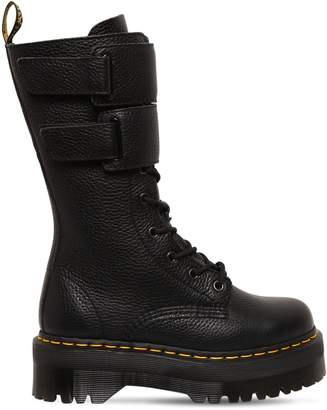 Dr. Martens 40mm Jagger Tumbled Leather Boots