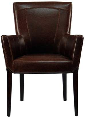 Safavieh Ken Leather Arm Chair