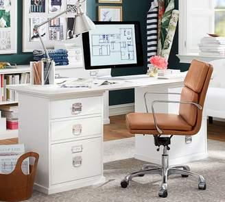 Pottery Barn Bedford 5-Drawer Rectangular Desk