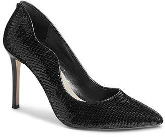 Karen Millen Sequin High-Heel Court Pumps