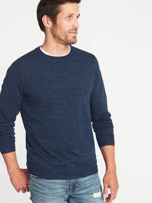 Old Navy Heathered Crew-Neck Sweater for Men