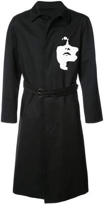 Neil Barrett Siouxsie belted trench coat