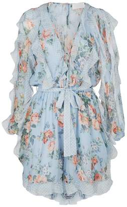 Zimmermann Bowie Frill Playsuit