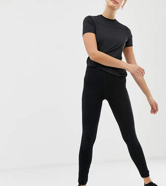 Asos 4505 4505 Tall high waist sports legging with black spandex