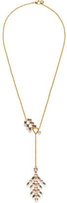 Larkspur & Hawk - Caterina Gold-dipped Quartz Necklace