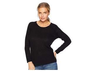 Tribal Long Sleeve High-Low Sweater