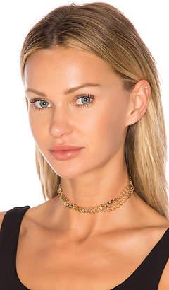 Ettika Multi Chain Choker in Metallic Gold. $51 thestylecure.com