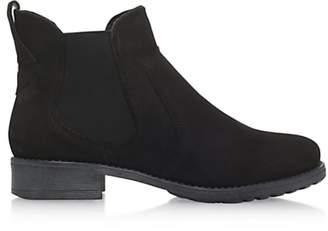 Carvela Solid Slip On Ankle Boots, Black