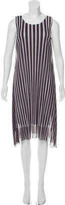 Pleats Please Issey Miyake Plissé Midi Dress