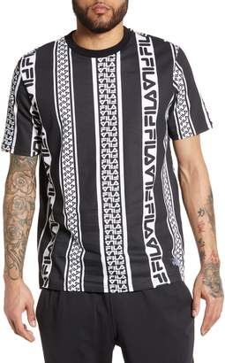 Fila Coda Logo Stripe T-Shirt