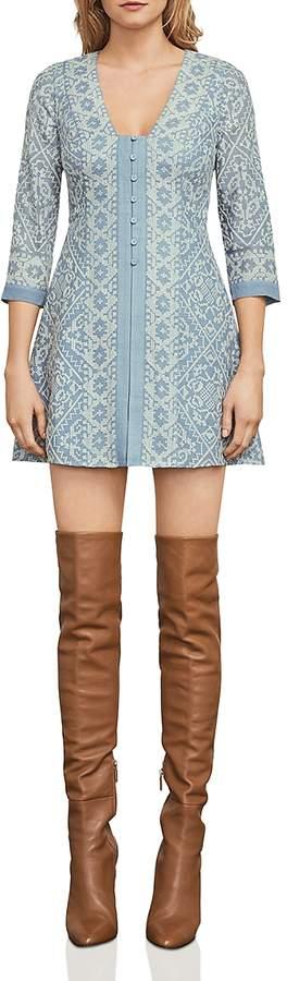 Jayde Embroidered A-Line Dress