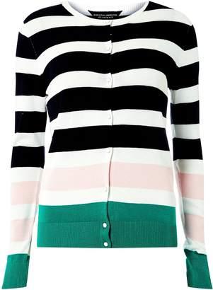 Dorothy Perkins Womens **Tall Multi Colour Striped Cardigan