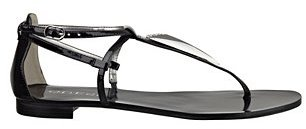 GUESS Rafi Triangle-Detail Sandals