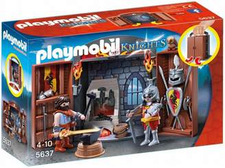 Playmobil Knights Armoury Play Box 5637