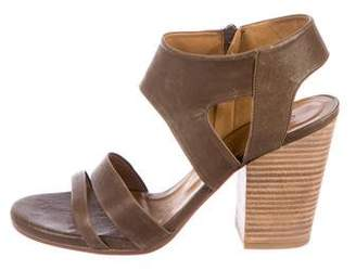 Coclico Leather High-Heel Sandals