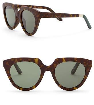 Toms 50mm Traveler Lourdes Sunglasses