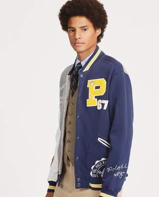 Ralph Lauren Fleece Letterman Jacket