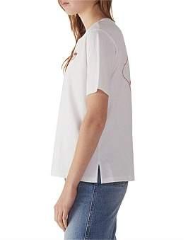 Sandro Paris Josephine Knitted T Shirt