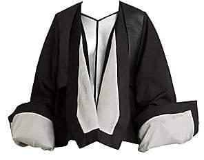 Rick Owens Women's Babel Oversized Cuff Soft Trench Coat
