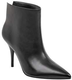 Marc Fisher Fenet Leather Stiletto Booties