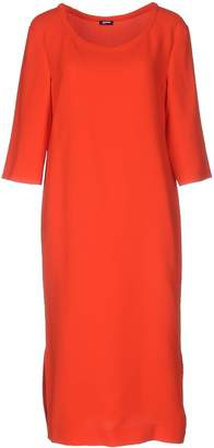 Jil Sander Navy Knee-length dresses - Item 34678145MC
