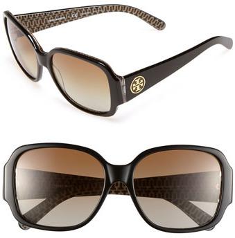 Tory Burch 'Glam' 58mm Sunglasses