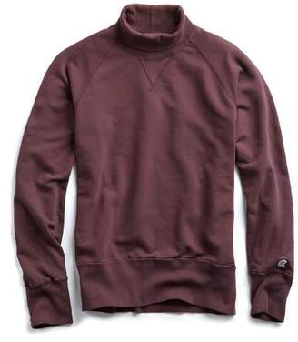 Todd Snyder + Champion Champion Turtleneck Sweatshirt in Plum