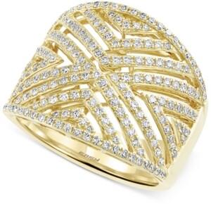 Effy D'Oro by Diamond Geometric Ring (3/4 ct. t.w.) in 14k Gold