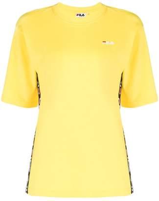 Fila logo stripe detail T-shirt
