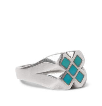 Foundwell Sterling Silver Turquoise Ring