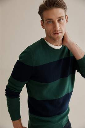 Country Road Bold Stripe Crew Knit