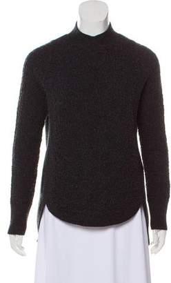 Theyskens' Theory Wool Long Sleeve Sweater