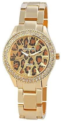 Excellanc Women's Quartz Watch 150804000003 with Metal Strap