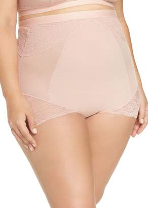 Spanx R) On Lace High Waist Briefs (Plus Size)