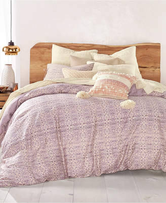 Lucky Brand Distressed Tile 230-Thread Count 2-Pc. Twin/Twin Xl Comforter Set
