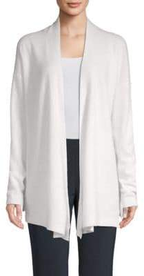 Saks Fifth Avenue Open Front Cashmere Cardigan
