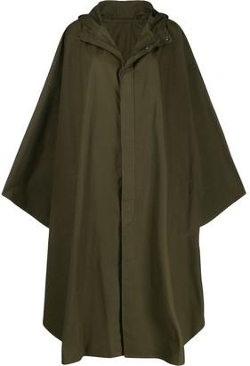 Holland & Holland oversized cape coat