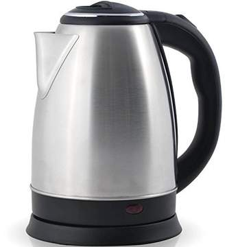 Best Professional Grade Electric Tea Kettle (HUGE 2.0L CAPICITY - 100% STAINLESS STEEL) - Instantly Boil Hot Water In Seconds - Cordless - Perfect For Brewing Teas