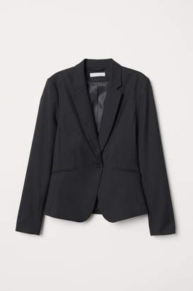 H&M Fitted Blazer - Black