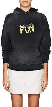 "Givenchy Women's ""Fun"" Cotton Hoodie"