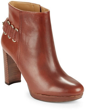 Nine West Nine West Kali Leather Ankle Boots