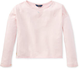 Polo Ralph Lauren French Terry Sweatshirt, Toddler Girls
